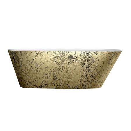 Best Design Best Design Vrijstaand Bad | Color-Goldfeeling | 172x75x60 cm | goud