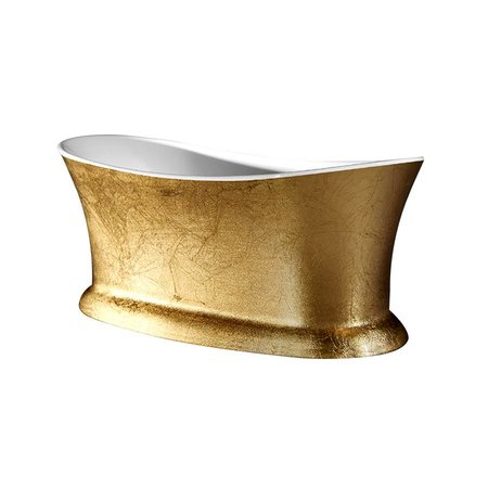 Best Design Best Design Vrijstaand Bad | Color-Bridgegold | 175x79x70 cm | goud