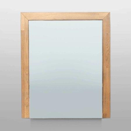 Samano Natural Wood Spiegelkast | dubbelzijdige spiegel | 60 cm | eikenhout | 1 deur | rechtsdraaiend | LED verlichting