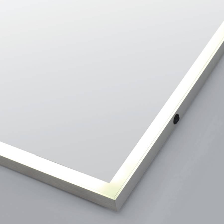 samano spiegel edge 60x70 cm rechthoek met led verlichting