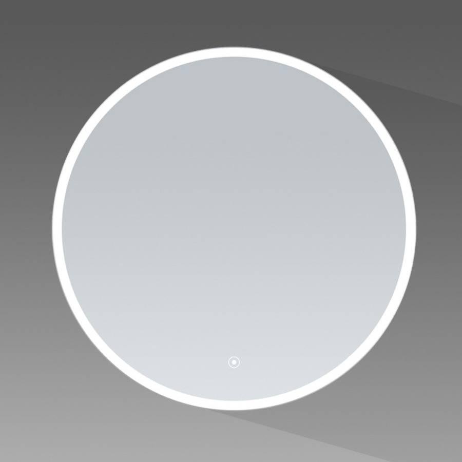 samano spiegel edge rond 70 cm rond met led verlichting