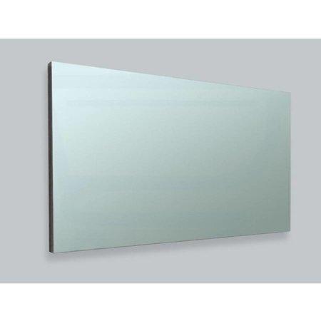 Samano Spiegel Alu   120 cm   rechthoek   aluminium   zonder verlichting