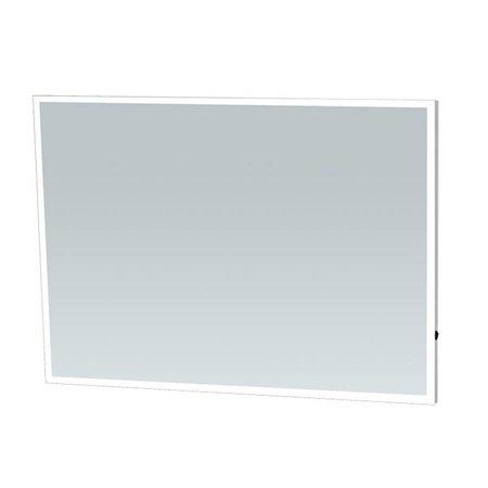 Samano Spiegel Edge | 120 cm | rechthoek | aluminium | met LED verlichting