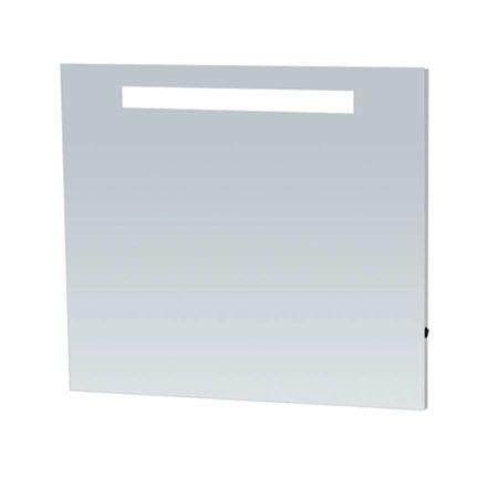 Samano Spiegel Exclusive Line Light | 80x75 cm | rechthoek | aluminium | met LED verlichting