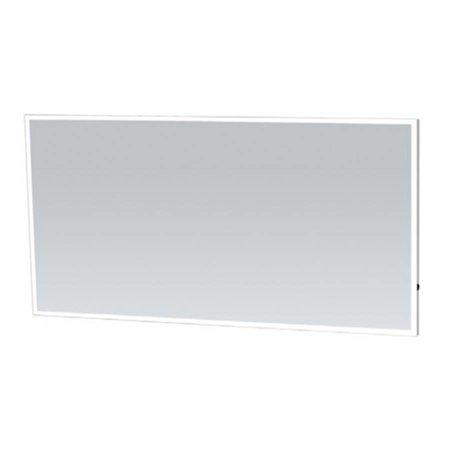 Samano Spiegel Edge | 140 cm | rechthoek | aluminium | met LED verlichting