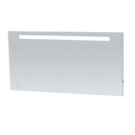 Samano Spiegel Exclusive Line Clock   140x70 cm   rechthoek   aluminium   met LED verlichting