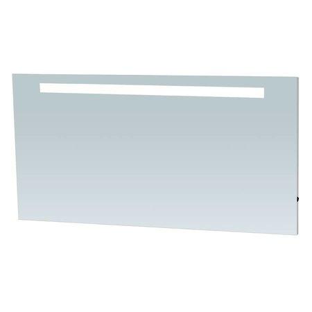 Samano Spiegel Exclusive Line Light | 160x70 cm | rechthoek | aluminium | met LED verlichting