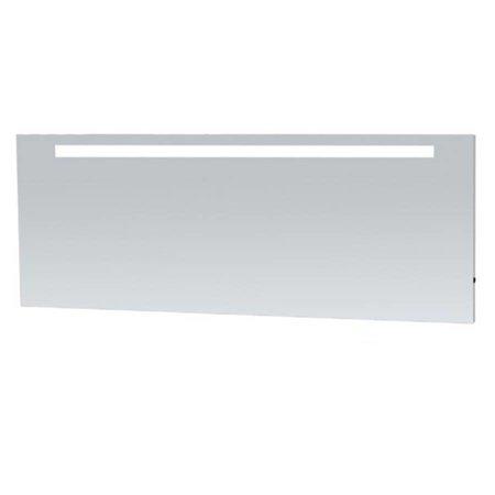 Samano Spiegel Exclusive Line Light | 200x70 cm | rechthoek | aluminium | met LED verlichting