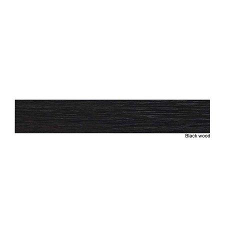 Samano 2.0 Spiegelkast | enkelzijdige spiegel | 100 cm | zwart | 2 deuren | LED verlichting