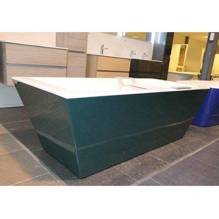 Xenz Xenz Donna vrijstaand bad | Groen | 180 x 80 cm