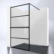 Best-Design Douchewand | Noire 900 screen | Inloopdouche 90 x 200 cm