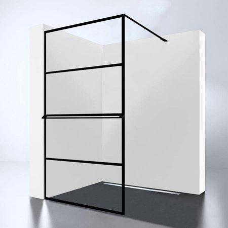 Best Design Best-Design Douchewand | Noire 900 screen | Inloopdouche 90 x 200 cm