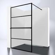 Best-Design Douchewand | Noire 1000 screen | Inloopdouche 100 x 200 cm