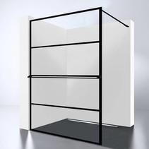 Best-Design Douchewand | Noire 1400 screen | Inloopdouche 140 x 200 cm