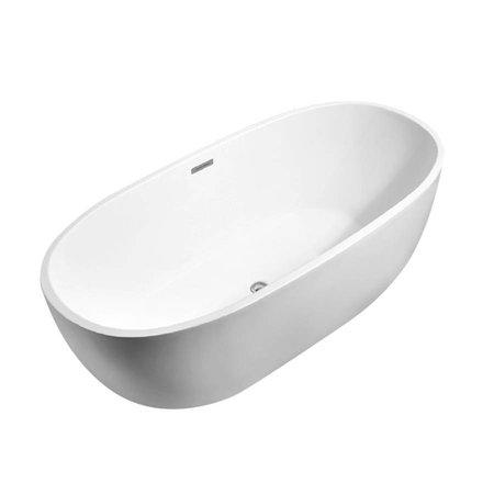 Best Design Best-Design Bad Moderna | Mat-Wit | Vrijstaand bad | 170x78x60cm