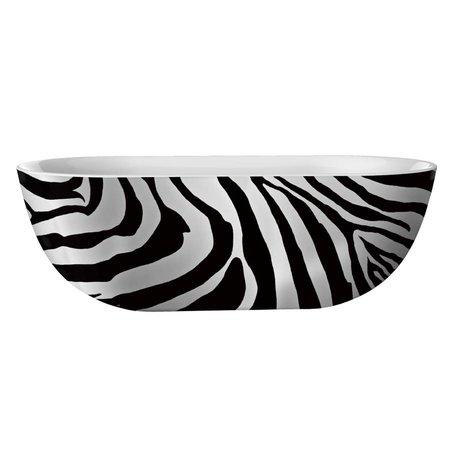 """Best Design Best Design Bad """"Color-Zebra""""   vrijstaand bad   180x86x60cm"""