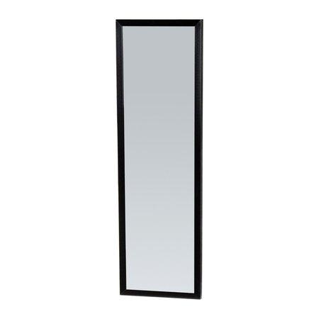 Samano Silhouette 25 spiegel 25x80cm zwart aluminium
