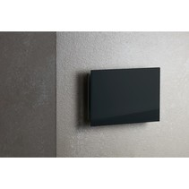 Sunshower ventilatierooster 15x9cm voor Pure en Pure Xl en Deluxe glas zwart