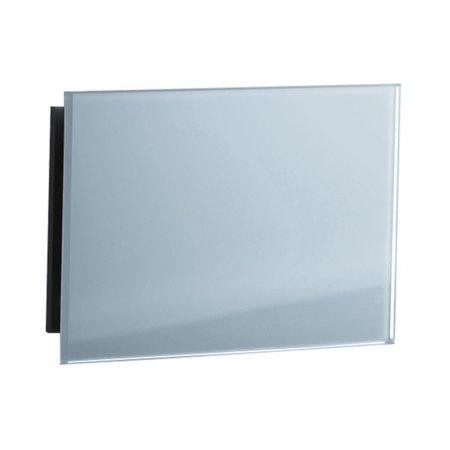 Sunshower Sunshower ventilatierooster 15x9cm voor Pure en Pure Xl en Deluxe glas wit