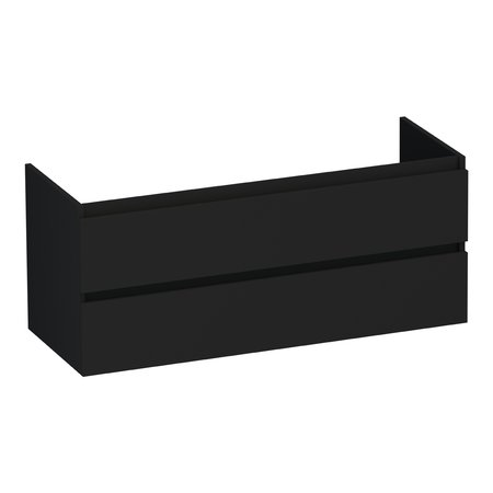 Samano Onderkast Oplossing 120-1 mat zwart