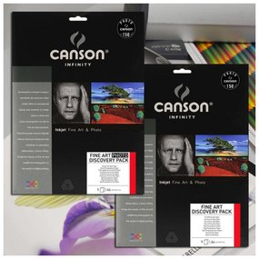Canson Infinity Fine Art Discovery Pack A4