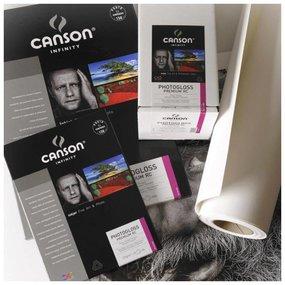 "Canson Infinity Photogloss Premium RC 270 gr/m²  Testrol 24"" x 3,05m"