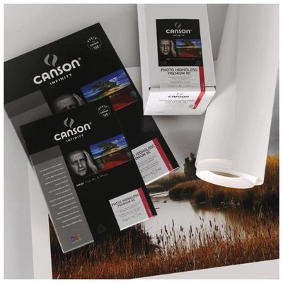 """Canson Infinity Photo Highgloss Premium RC 315 gr/m2 - Rol 17"""""""