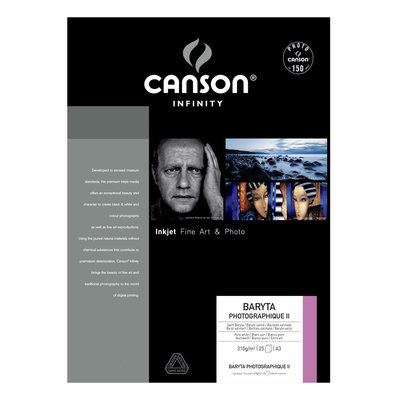 Canson Infinity Baryta Photographique II 310 gr/m²