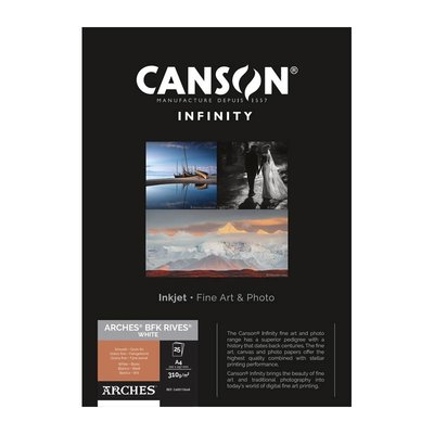 Canson Infinity BFK Rives 310 gr/m2 White