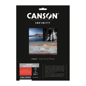 Canson Infinity Discovery Pack Arches A4