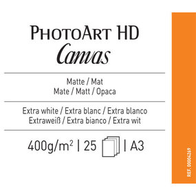 Canson Infinity PhotoArt HD Canvas 400 gr/m² A3 - 25 vel