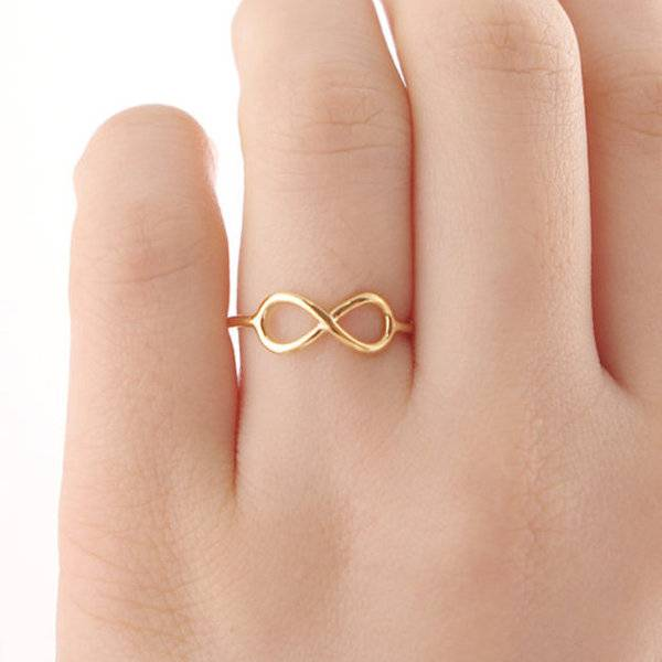 Joboly Unendlich unendlich unendlich subtiler Ring
