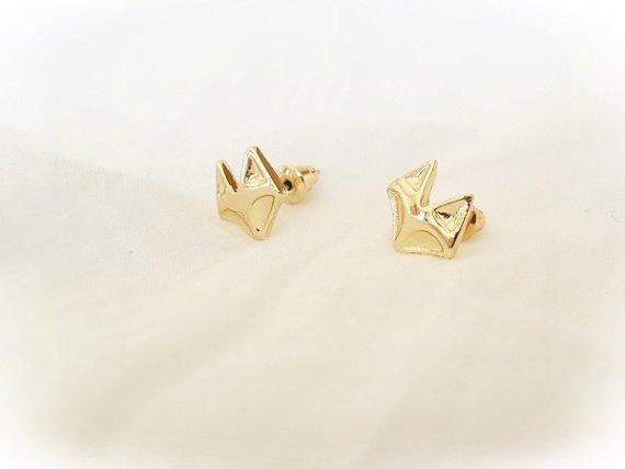 Joboly Fox fox animal hip earrings