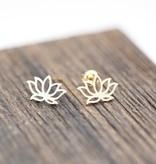 Joboly Lotus flower hip boho earrings
