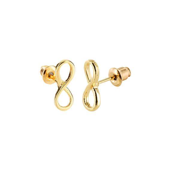 Joboly Infinity endless infinite subtle earrings