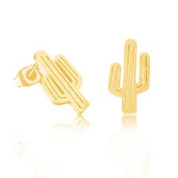 Joboly Cactus hippe oorbellen