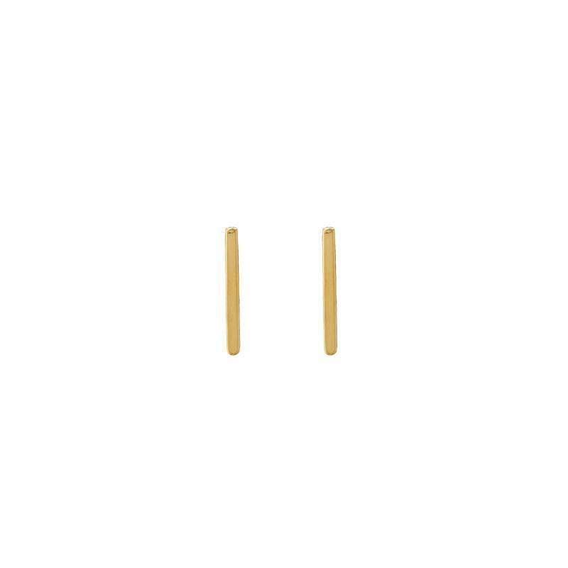 Joboly Bar T minimalistische flache Ohrstecker 12mm