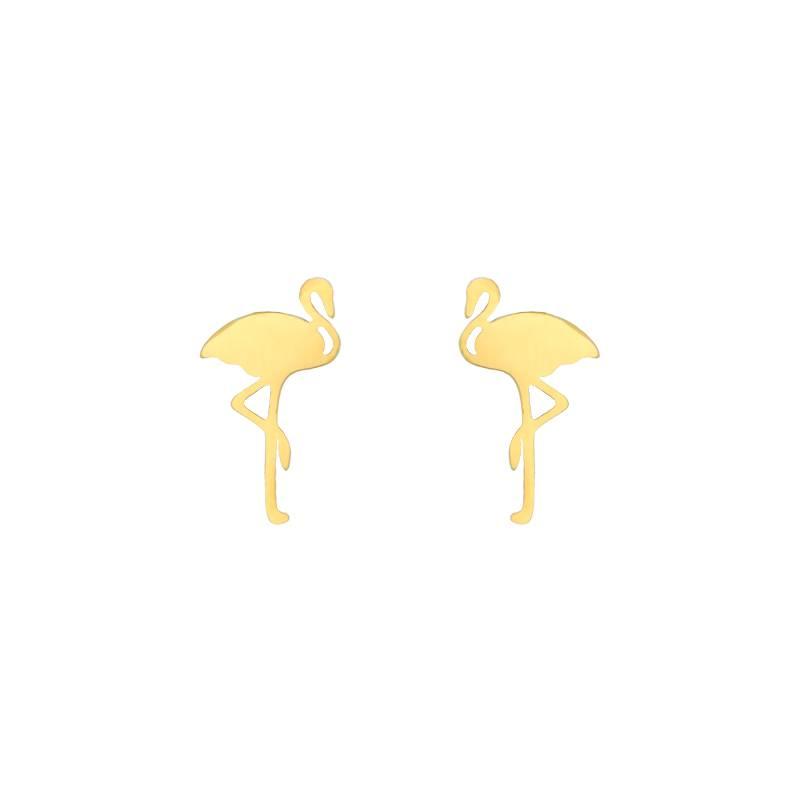 Joboly Flamingo hippe oorbellen