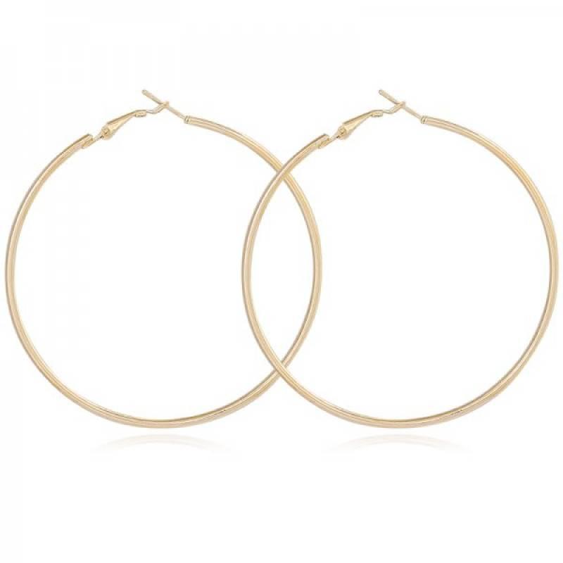 Joboly Grote ronde ringen oorbellen maat 4cm