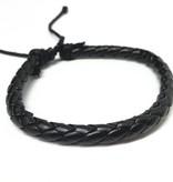 Joboly Trendy enkele echte stoere mannen / heren armband verstelbaar