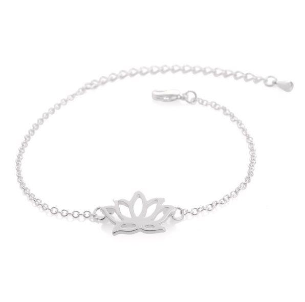 Joboly Lotus flower hip boho bracelet