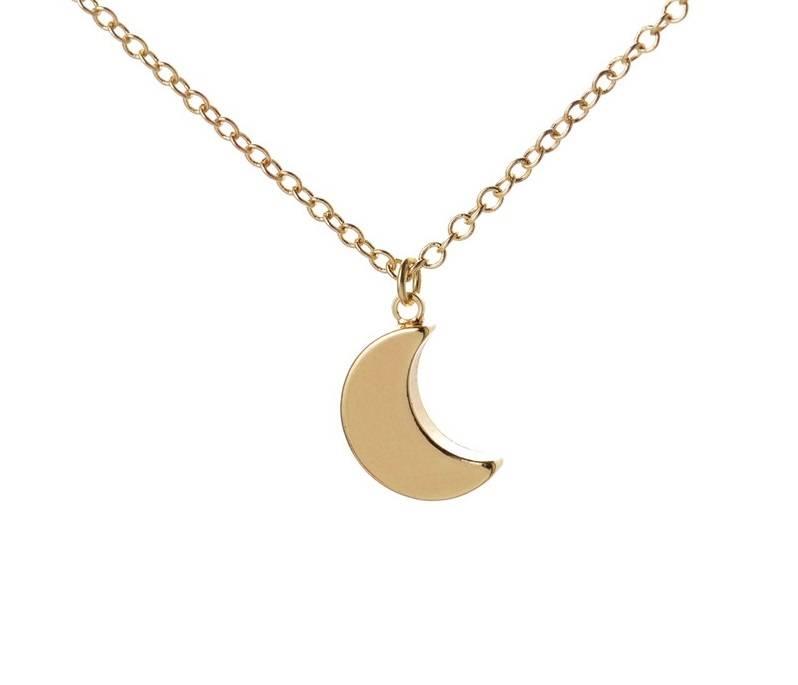 Joboly Maan moon nacht hippe ketting