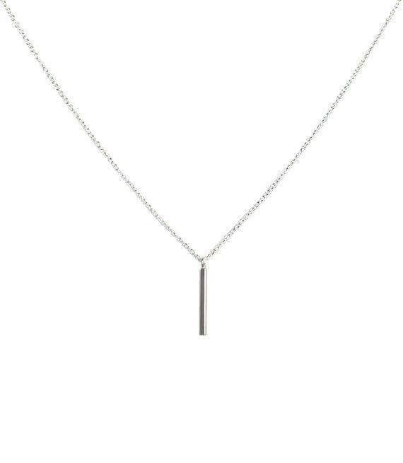 Joboly Bar minimalistische Bar Halskette