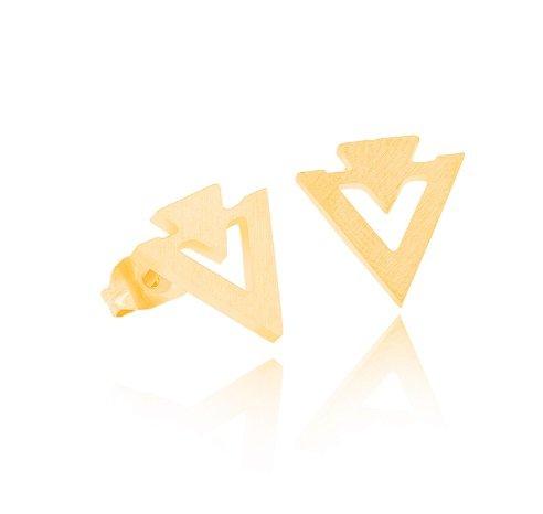 Joboly Minimalist triangle earrings