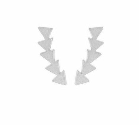 Joboly Minimalistische trendige geometrische Dreieck-Ohrringe