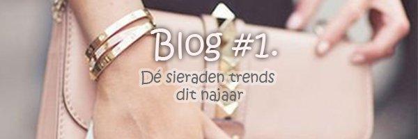 Blog #1 Dé sieraden trends dit najaar!