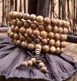 Joboly Buddha Bracelet Sandalwood Red-brown