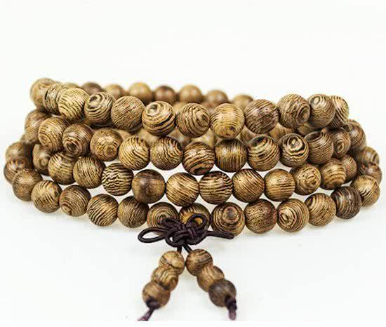 Joboly Buddha Armband Sandelhout Roodbruin