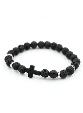Joboly Tough men / men cross cross bracelet