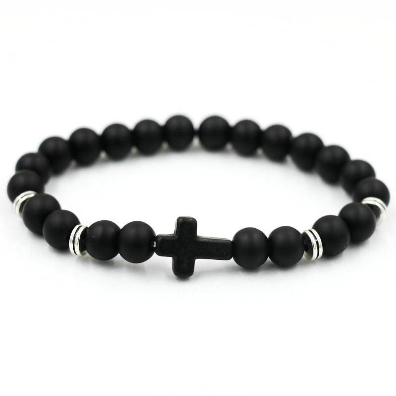 Joboly Tough men / men cross cross bracelet